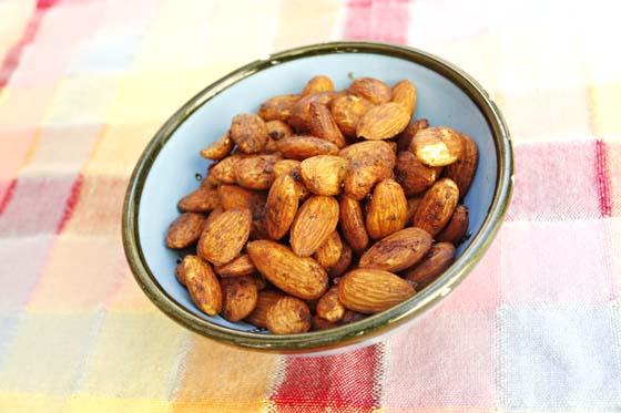 Tamari Toasted Almonds