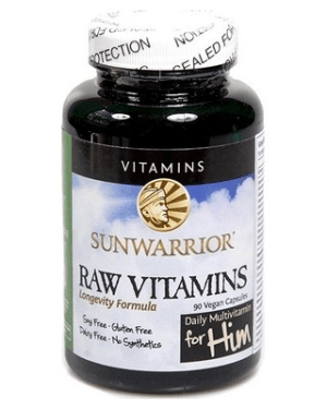 Sunwarrior Raw Vitamins - For Him