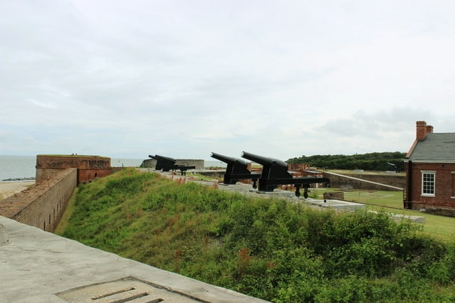 Outside Fort Clinch