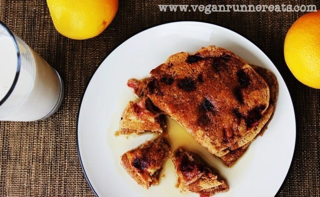 Strawberry-Banana Pancakes Recipe