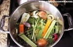 Broth before cooking