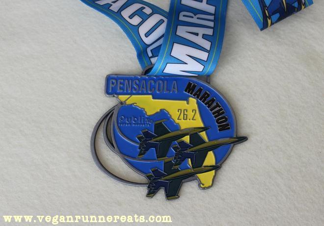 Pensacola Marathon Medal