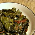 Smoky Southern-style Slow Cooker Vegan Collard Greens Recipe