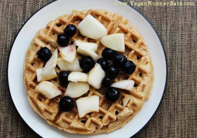 Easy-Peasy Vegan Waffles from Scratch