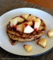 Sweet Potato Chia Pancakes