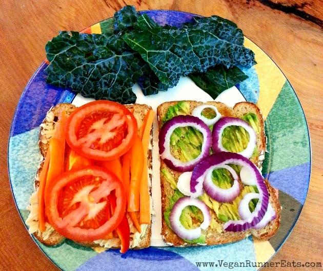 Hummus Sandwich