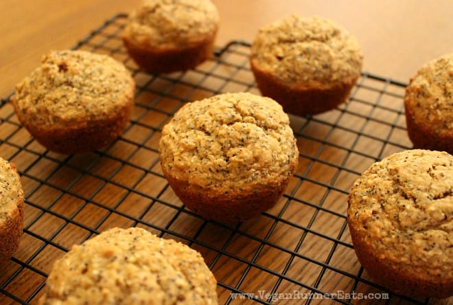 Lemon Coconut Chia Seed Muffins by Healthy Girl's Kitchen