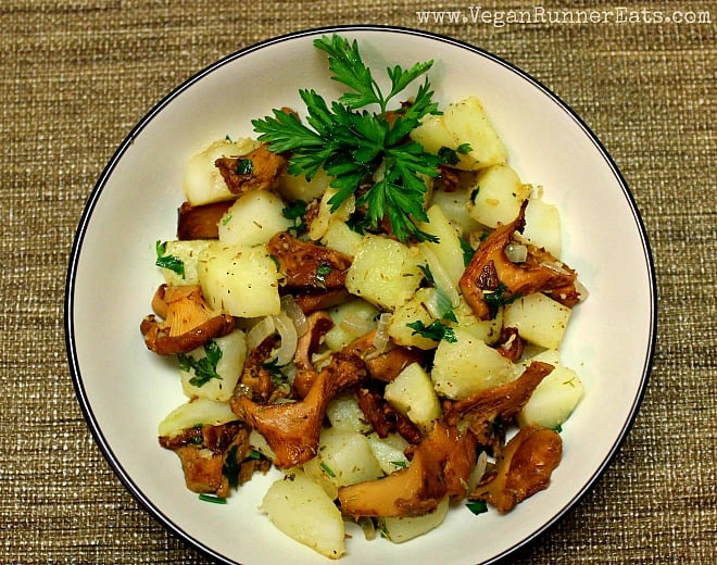 Chanterelle Stir-Fry with Potatoes and Herbs 2