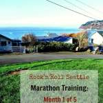 Rock'n'Roll Seattle Marathon Training, Month 1: Preparing for Bigger Things to Come.