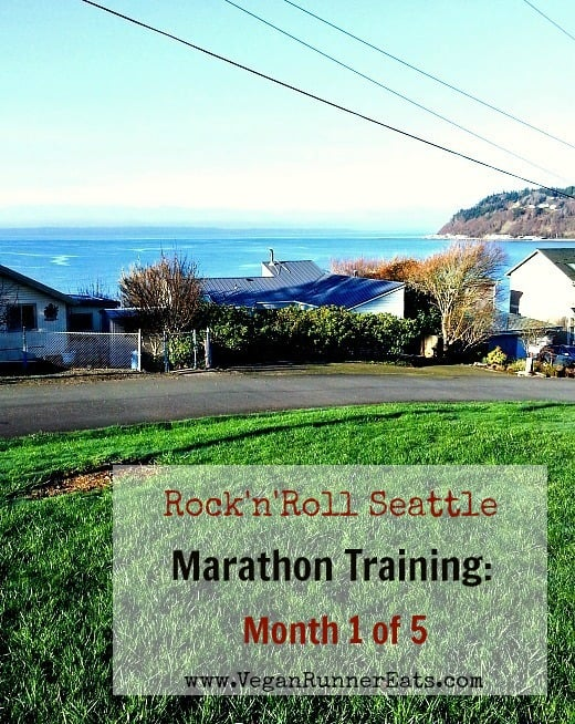 Rock n Roll Seattle Marathon Training_month 1