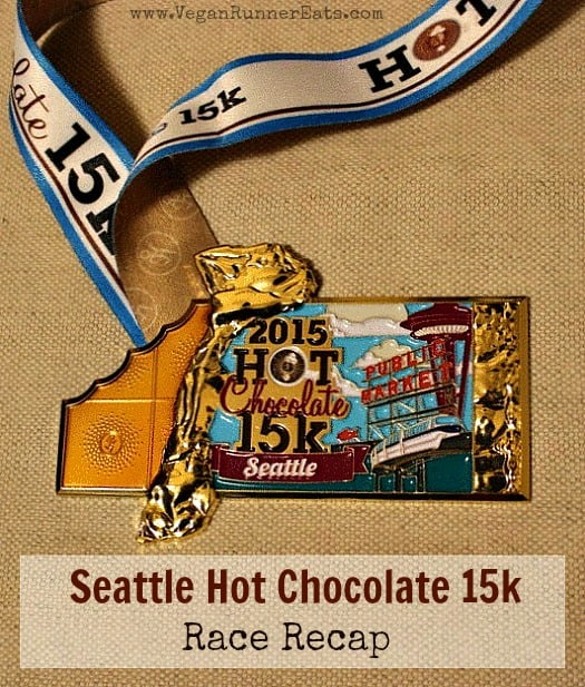 Seattle Hot Chocolate 15k 2015 race recap