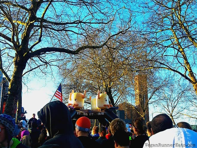 Seattle Hot Chocolate 15k 2015 start line