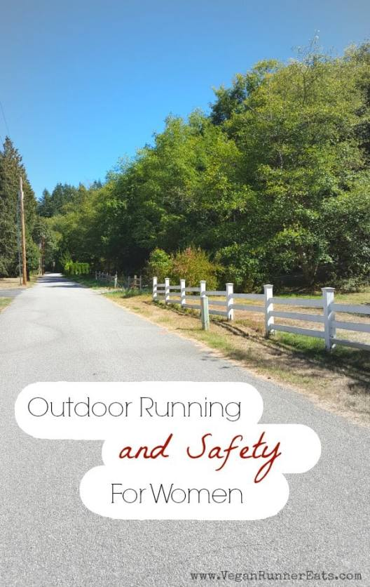 Outdoor running and safety tips for women
