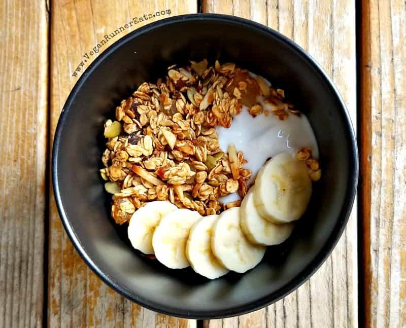 Homemade vegan granola recipe