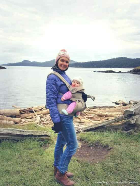 Traveling on Orcas Island with a baby