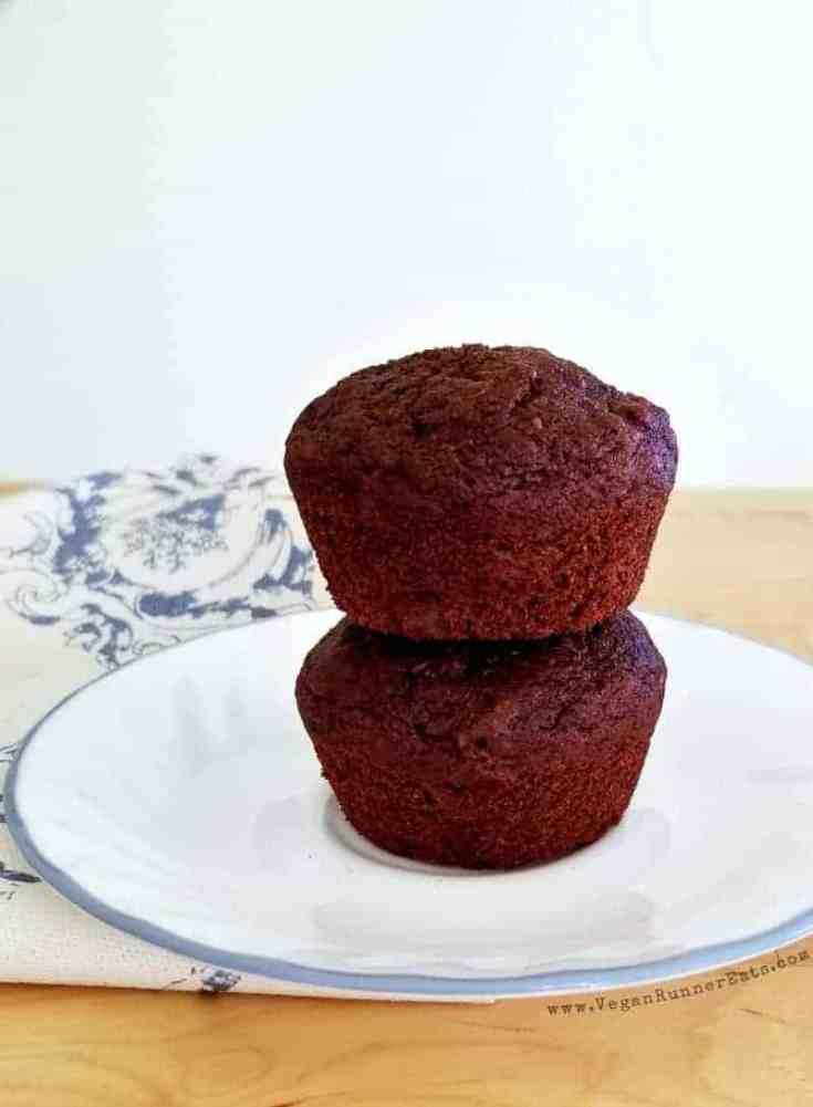 Healthy Vegan Chocolate Muffins