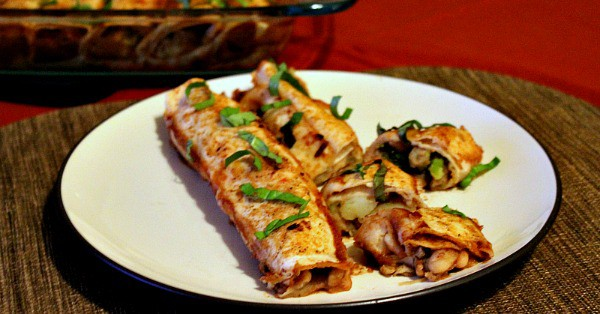 Veggie-Loaded Vegan Enchiladas Recipe - a Plant-Based Dinner to Warm Your Soul!