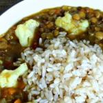 Easy Recipe: Vegan Lentil Soup with Cauliflower and Rice