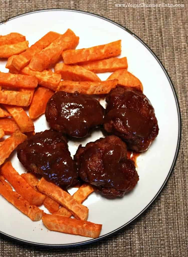 Homemade BBQ seitan recipe