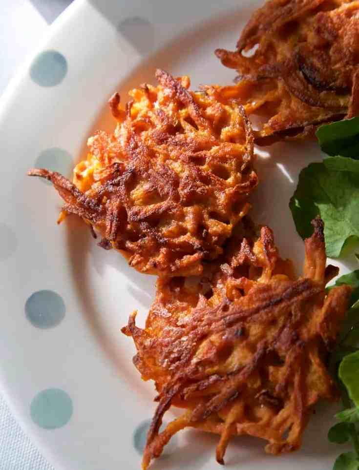 Vegan Carrot Fritters