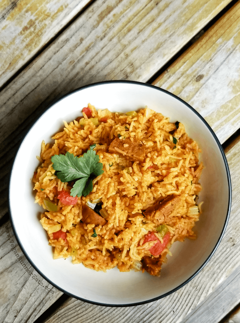 Instant Pot Vegan Jambalaya Recipe