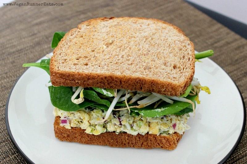 Vegan Chickpea Salad Sandwich Recipe