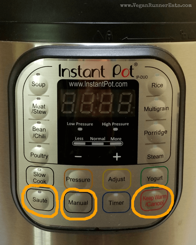 Using an Instant Pot: 3 main buttons that get all the work done
