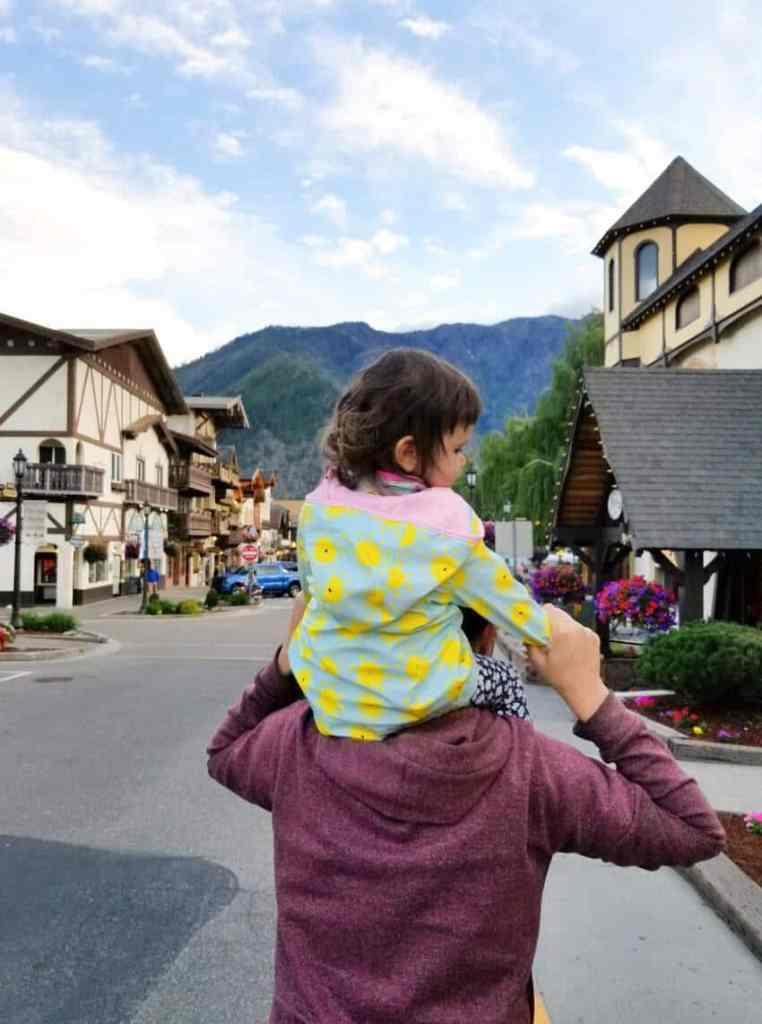 Exploring downtown Leavenworth, WA