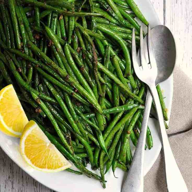 Grilled Green Beans with Cumin and Smoked Paprika