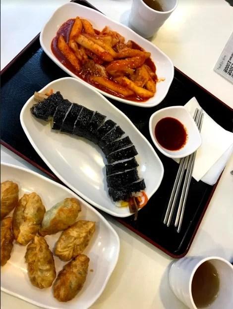 Vegan kimbap from Maru JaYeonSik Kimbap, Seoul