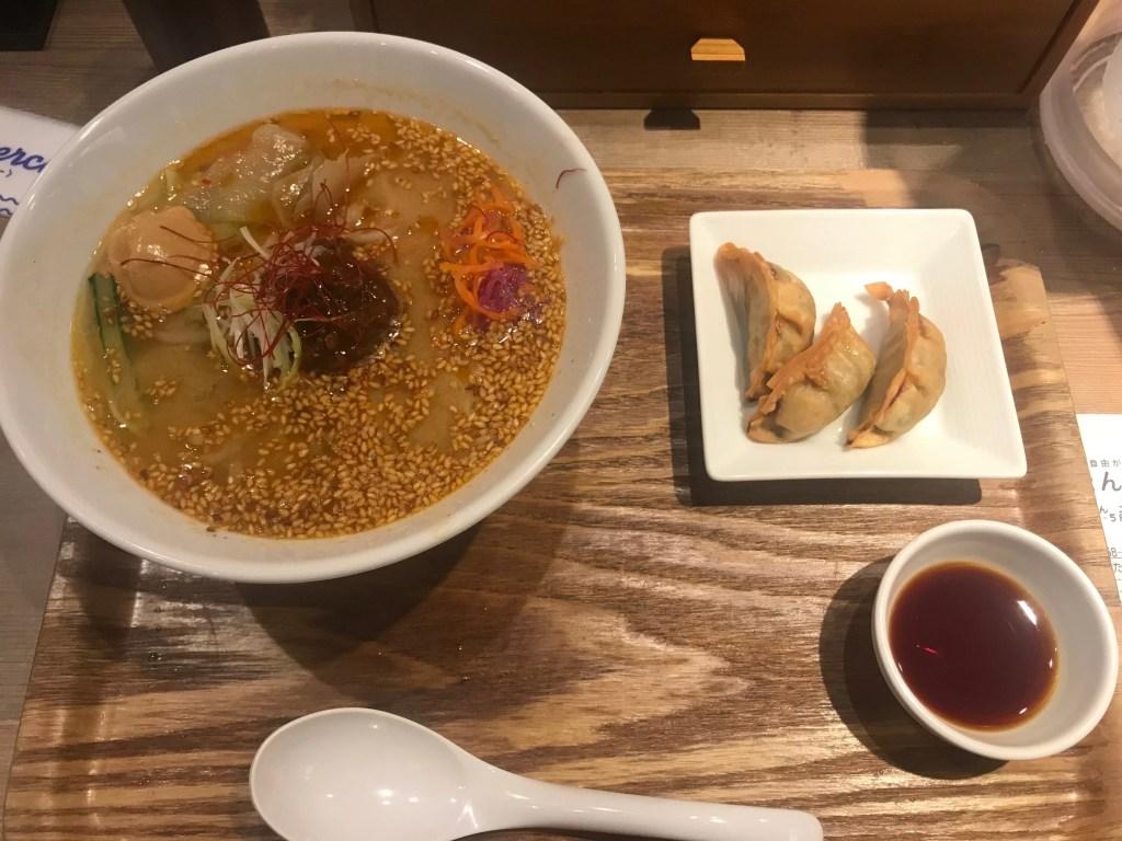 T's TanTan Vegan Ramen Tokyo. Best vegan ramen Japan