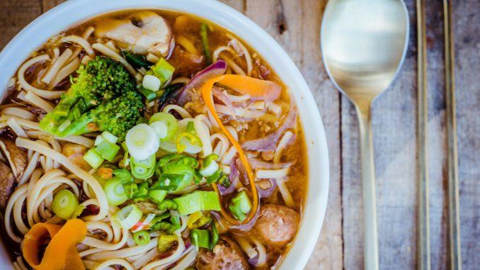 Vegansk hotpot - vegansk mat