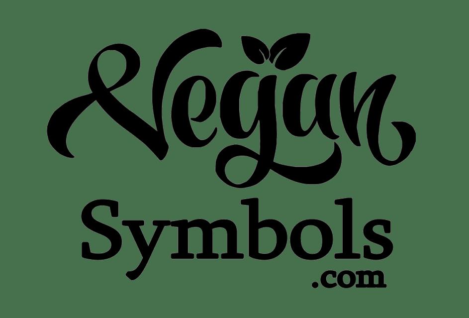 vegan symbols emojis copyright