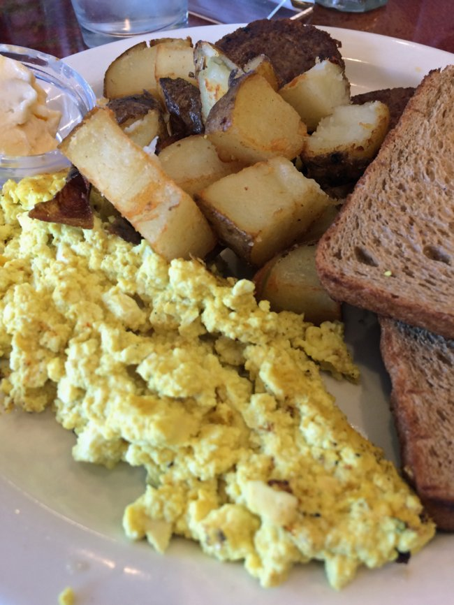 Tofu Scramble P.S.A. in Port Jefferson