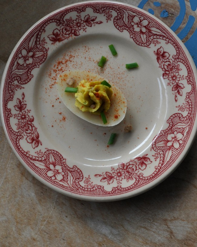 Ψ Vegan Deviled Eggs Ψ