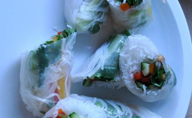 End of Summer Rolls {and much more}