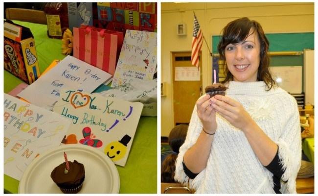 Birthday Part 1: The Kids & The Cupcake