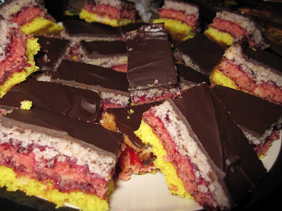 Vegan Rainbow Cookies