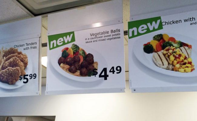 Grönsaksbullar: Ikea's cheap, plastic vegan food