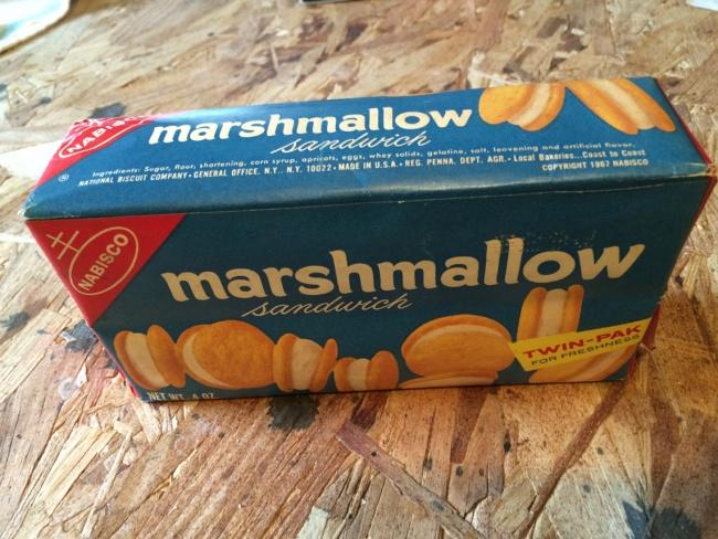 Nabisco Marshmallow Sandwich Cookies