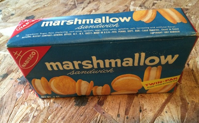 Nabisco Marshmallow Sandwich Cookies