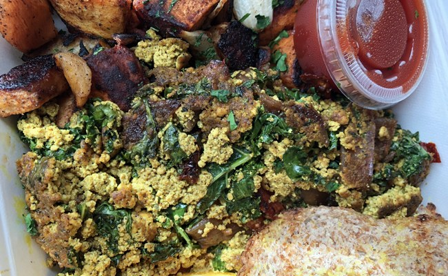 Stick a {South Fork} In Me: Tofu Scrambles On Long Island's South Shore