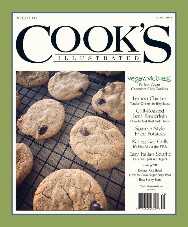 Cook's Illustrated, Perfect Chocolate Chip Cookies