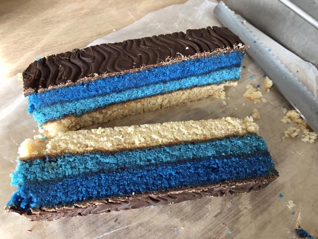 Hanukkah Rainbow Cookies
