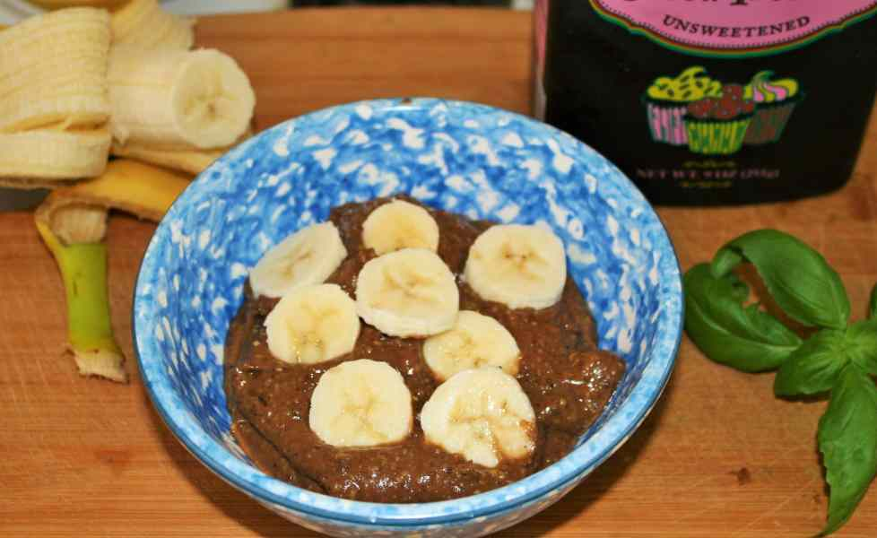 Banana Chocolate Pudding