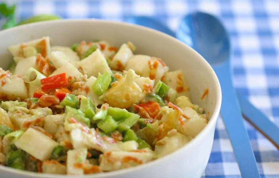 10 Minute Summer Jicama Salad