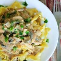 The BEST Vegan Mushroom Stroganoff
