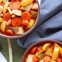 Healthy Vegan Vegetable Soup (GF, WFPB, Low Sodium)