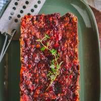 Savory Vegan Lentil Loaf (WFPB, GF)