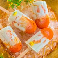 Apricot Chamomile Cream Popsicle Recipe (V, WFPB, GF, RSF)